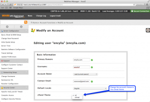 cPanel Email Only Login 2